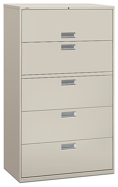Brigade 600 5-Drawer Lateral File contemporary-filing-cabinets-and-carts