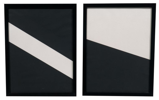 SOLD OUT!  Pair of Geometrics by Martha Angus - $250 on Chairish.com artwork