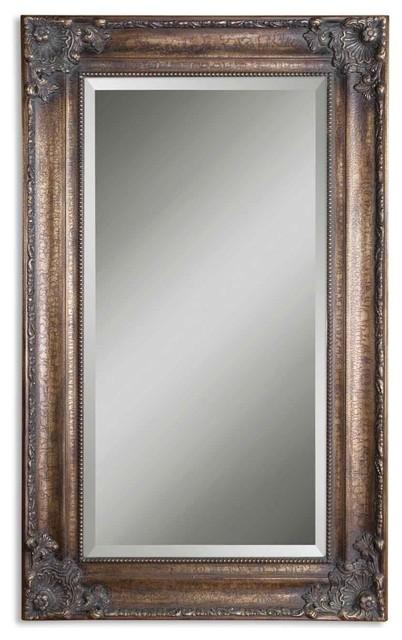www.essentialsinside.com: bertha oversized bronze mirror contemporary-mirrors