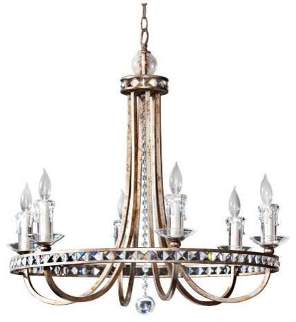 Aristocrat 6-Light Chandelier traditional-chandeliers