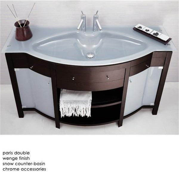 Paris Bathroom Vanity contemporary bathroom vanities and sink consoles