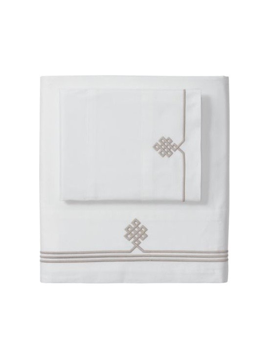 Bark Gobi Embroidered Sheet Set