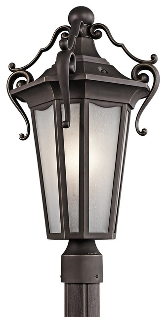 Kichler Lighting Nob Hill Traditional Outdoor Post Lantern Light X-ZR81494 contemporary-post-lights