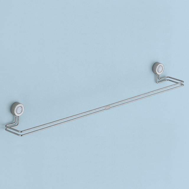 Unique Contemporary 20 Inch Wall Mounted Towel Bar by Gedy - Contemporary - Towel Bars And Hooks ...