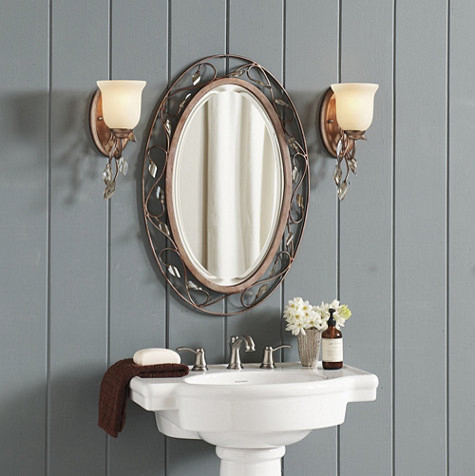 eleanor bath mirror traditional bathroom mirrors by ballard