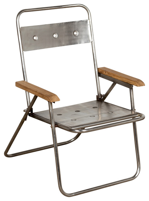 Davey Folding Chair Industrial Outdoor Folding Chairs by C G Sparks
