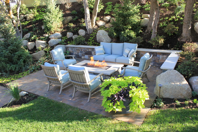 Little Cottonwood Canyon traditional-patio