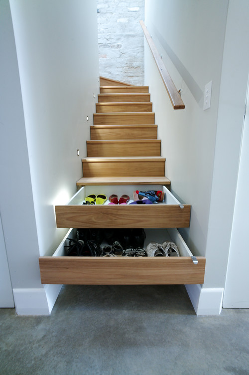 Idea #4 U2013 Use The Stairs Themselves To Access The Space