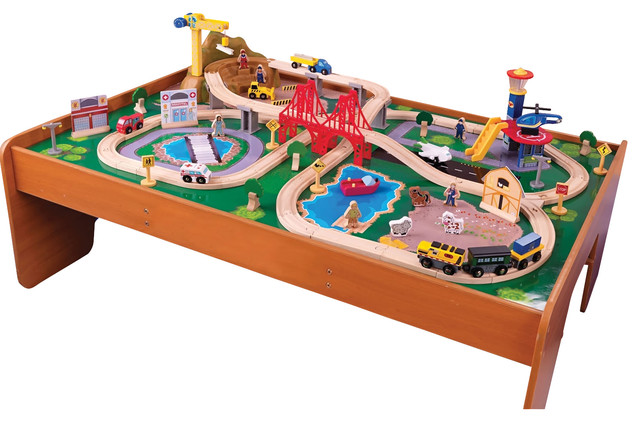Kidkraft Home Indoor Kids Playroom Ride Around Town Train