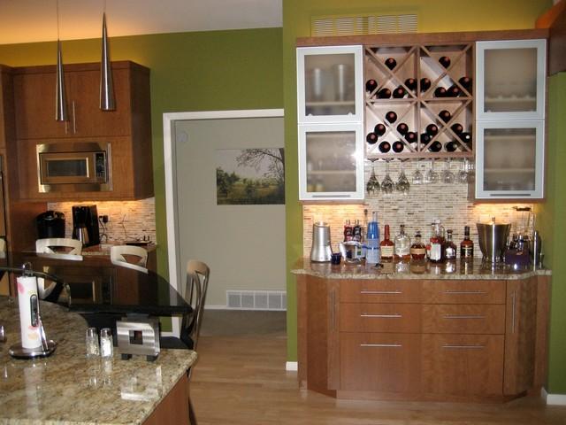 Modest Contemporary Kitchen contemporary-kitchen