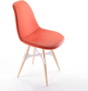 Kubikoff ZigZag Pop Chair Red dining-chairs