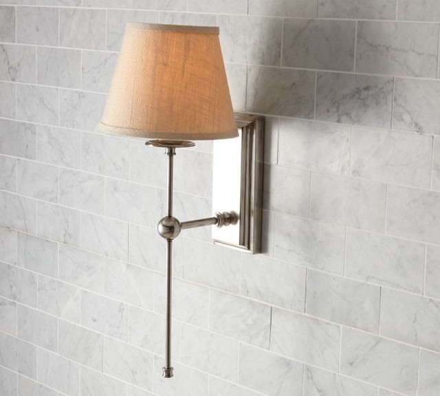 Bathroom Sconces Pottery Barn benedetina: sconces pottery barn