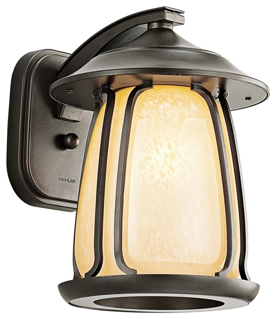 """Arts and Crafts - Mission Pasadena ENERGY STAR 12"""" High Outdoor Wall Light modern-outdoor-lighting"""