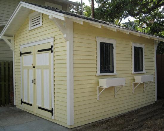 Craftsman Bungalow Shed in Tampa -