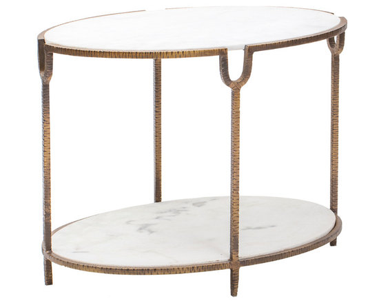 High Fashion Home Product 2 - http://www.highfashionhome.com/iron-and-oval-round-table.html