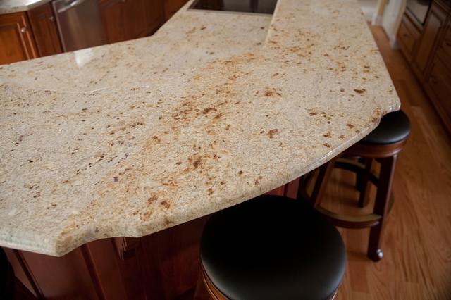 White Grantie Modern Kitchen Countertops Dc Metro By Granite