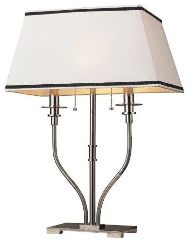 Tribeca 2-Light Table Lamp contemporary-table-lamps
