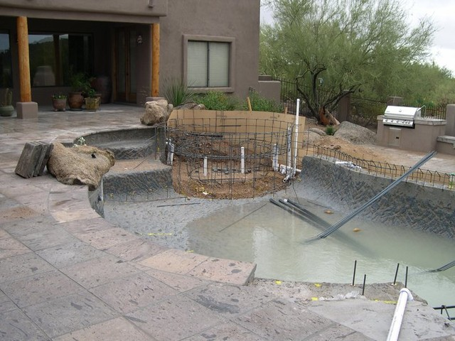 Pool Projects traditional