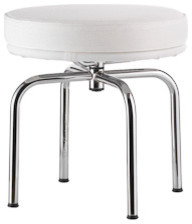 Outdoor LC8 Swivel Stool midcentury-outdoor-stools-and-benches