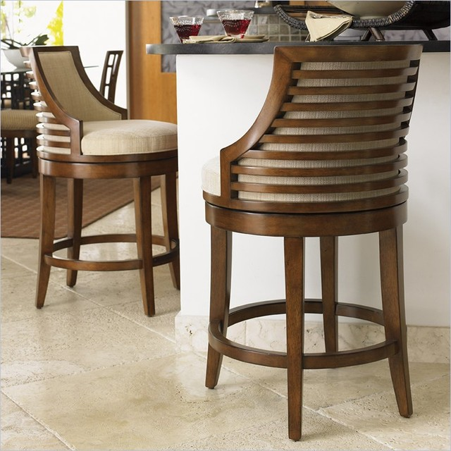 Countertop Height For Bar Stools : ... Cabana Swivel Counter Stool transitional-bar-stools-and-counter-stools