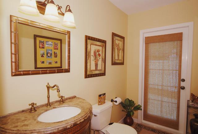 Culbreath Bayou Baths traditional-bathroom
