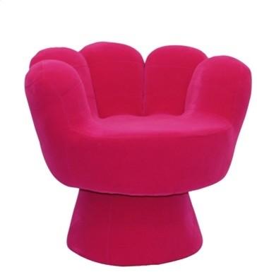 LumiSource Hot Pink Mitt Chair chairs