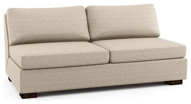 Rio Armless Queen Sofa Bed Custom Modern Sofa Beds