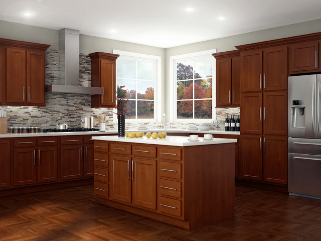 Glenwood Beech - Kitchen Cabinetry - other metro - by Kitchen Kompact, Inc.