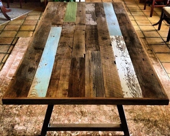 Reclaimed Wood Conference Table -