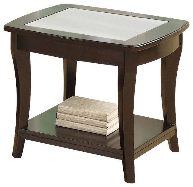 Riverside Furniture Annandale End Table in Dark Mahogany transitional-side-tables-and-end-tables