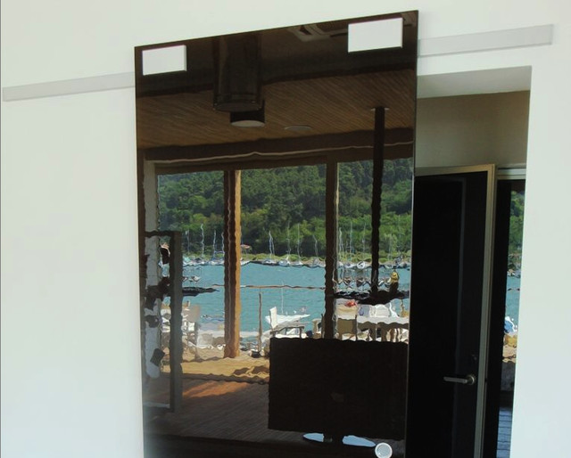 Diva Air - Sliding System For Glass Door - Modern - Home Improvement - new york - by AFFurniture ...