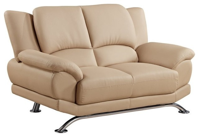 Global Furniture - 9908 Love Seat - Cappuccino - 15128LV traditional-love-seats