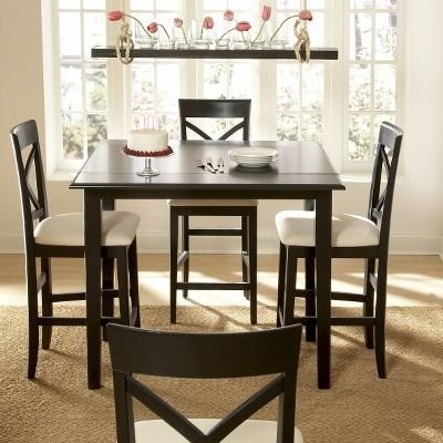Riverside Cobble Hill Drop Leaf Counter Height Table Set