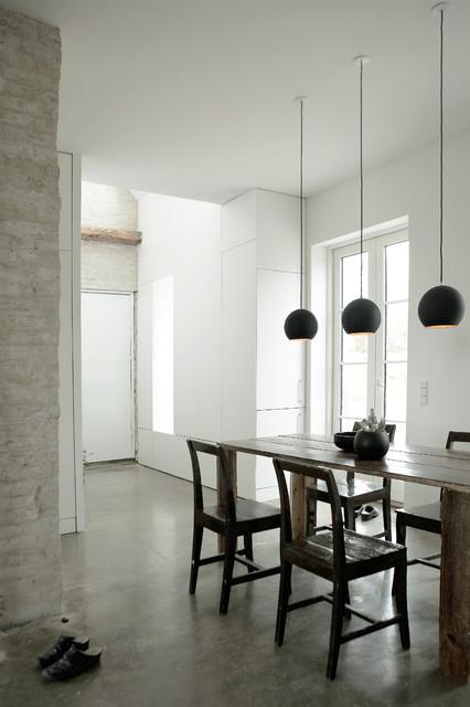 Humlebaek House contemporary-dining-room