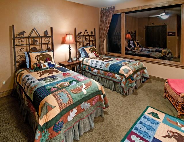 Mountain Style Bedroom Retreats traditional-bedroom