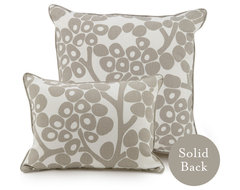 """13"""" x 17"""" Modern Berries Pillow, Taupe contemporary-decorative-pillows"""