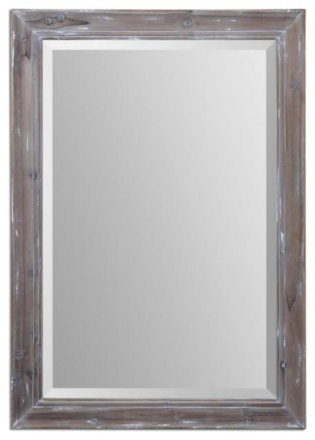 Delmore Aged Wood Mirror mediterranean-mirrors