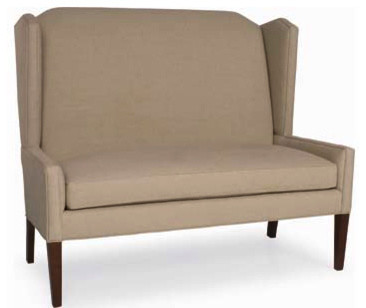 Pierce Settee - Banquette traditional sofas