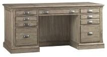 "Austin 66"" Pedestal Desk desks-and-hutches"