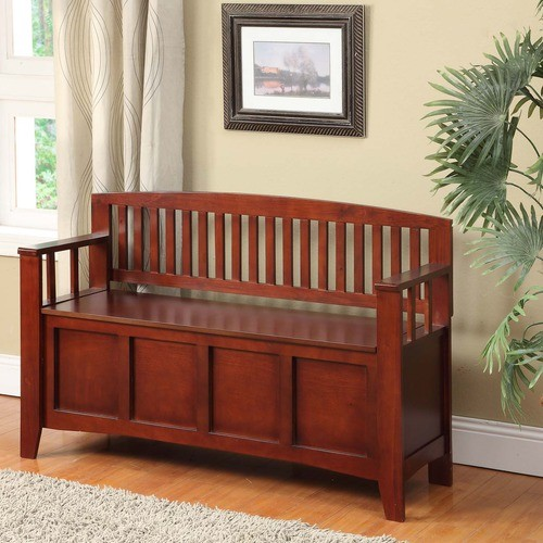 Cynthia Solid Wood Storage Entryway Bench Modern Accent And Storage Benches By Wayfair
