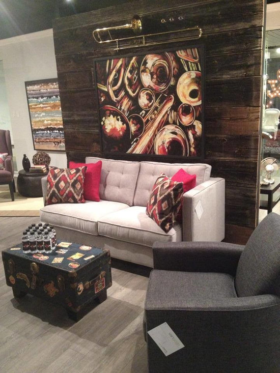 Toronto Showroom 2014 - Berkley Sofa & Russel Chair created by Glen Peloso & Jamie Alexander!