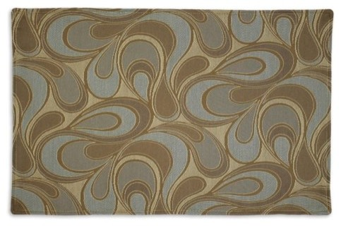 Chooty & Co. Tango Reversible Placemats - Set of 4 traditional-placemats