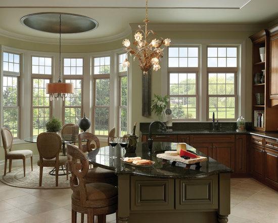 Interior Shots for Window Installs - Bay Windows - Milgard Product Catalog
