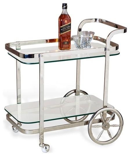 Viggo Bar Cart Contemporary Bar Carts By Urban Colony