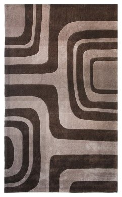 nuLOOM Maize ACR3-406 Area Rug - Brown modern-rugs