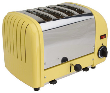 Dualit Classic Vario 4 Slice Toaster Canary Yellow