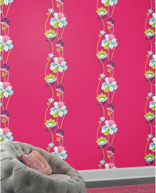 Kids Bedroom Wallpaper traditional-wallpaper