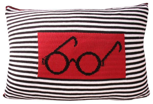 Vertigo Home Barbara Knitted Pillow eclectic-decorative-pillows