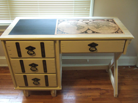 Painted Desk Stunning With Contemporary Painted Desk Ideas Pictures