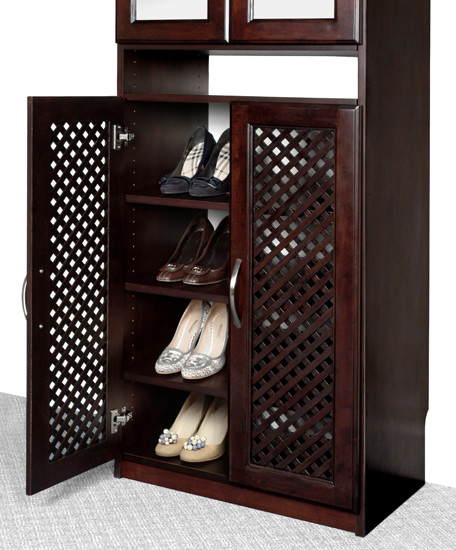 Closet Organizers Shoe Rack - Solid Wood Closets, Inc. modern closet organizers